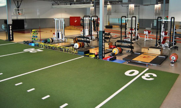 Inside of Velocity Sports Performance